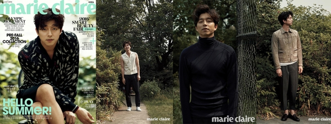 Gong Yoo Marie Claire July Feat Image Full Drama Chronicles