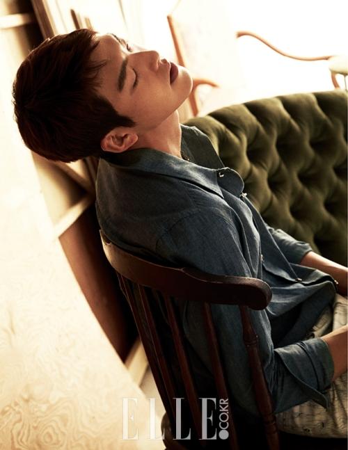 Kim Woo Bin Elle Korea 11 Drama Chronicles