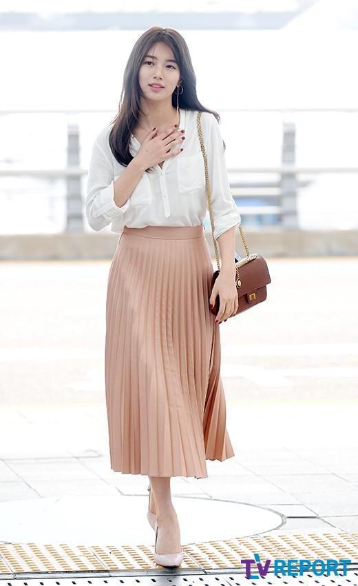 Bae Suzy Airport Fashion 06 Drama Chronicles Drama Chronicles