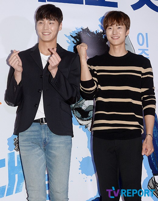 Lee Tae Hwan and Gong Myung