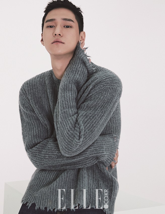 Go Kyung Pyo photo c/o Elle