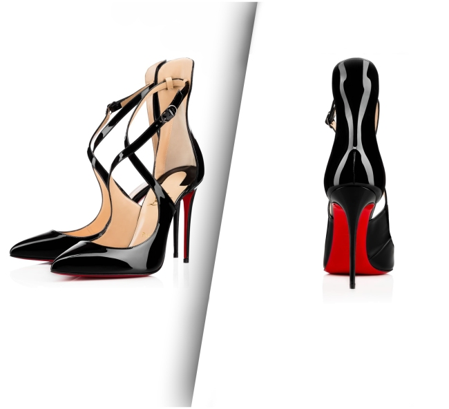 Christian Louboutin Marlenarock Shoes (Side and Back View).
