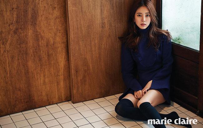 Baek Jin Hee c/o Marie Claire
