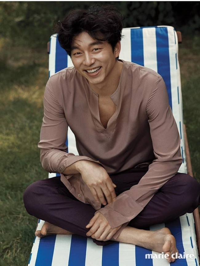 Gong Yoo photo c/o Marie Claire