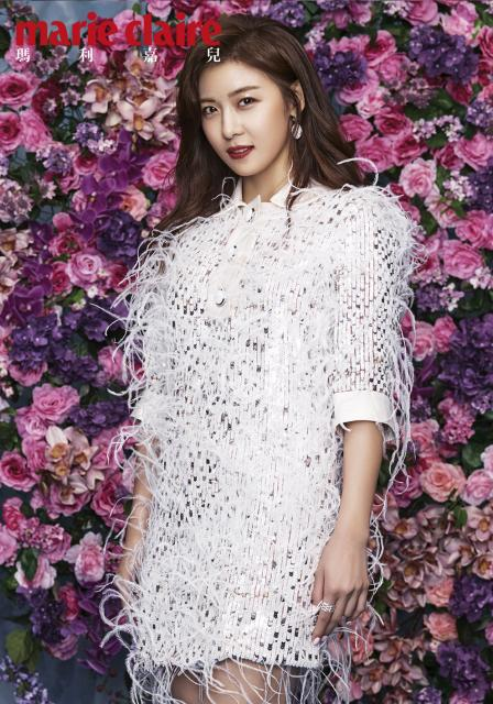 Ha Ji Won photo c/o Marie Claire HK