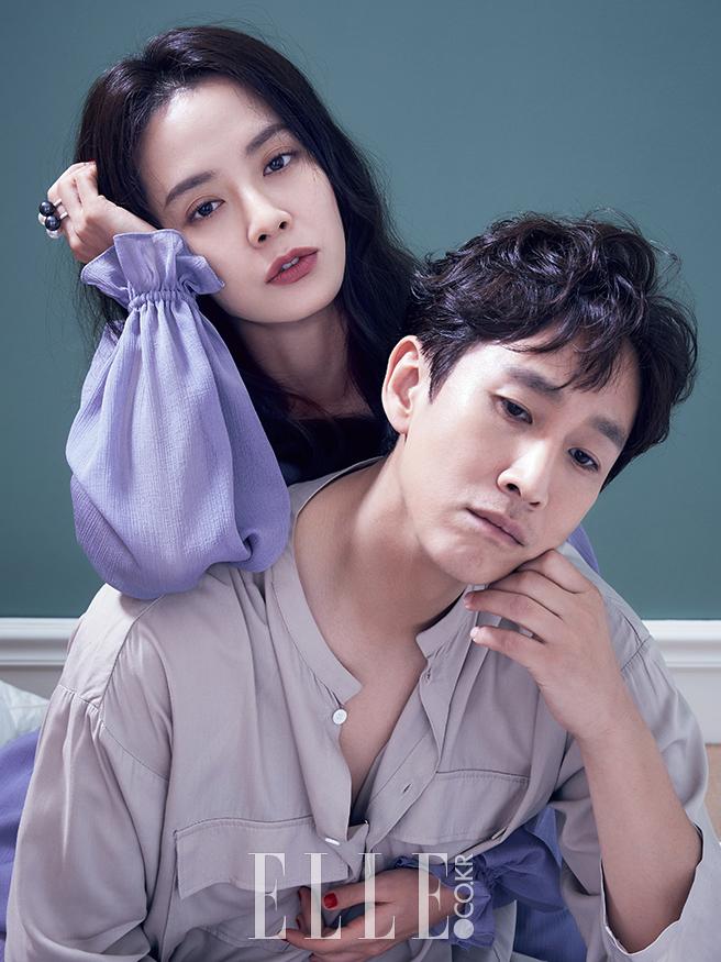 Song Ji Hyo Lee Sun Kyun photo c/o Elle