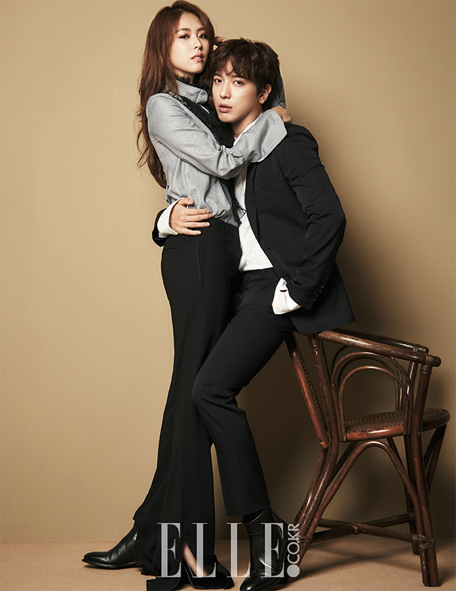 Lee Yeon Hee and Jung Yonghwa photo c/o Elle