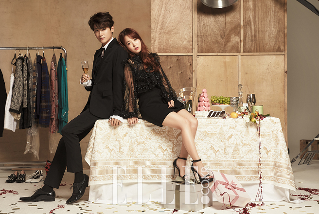 Park Bo Young and Park Hyung Sik photo c/o Elle