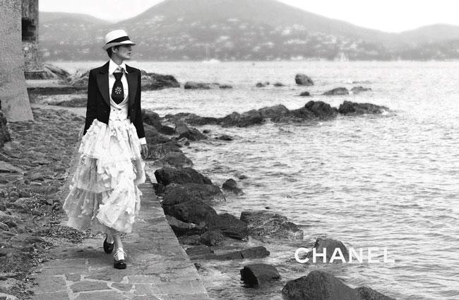 Model photo c/o Chanel