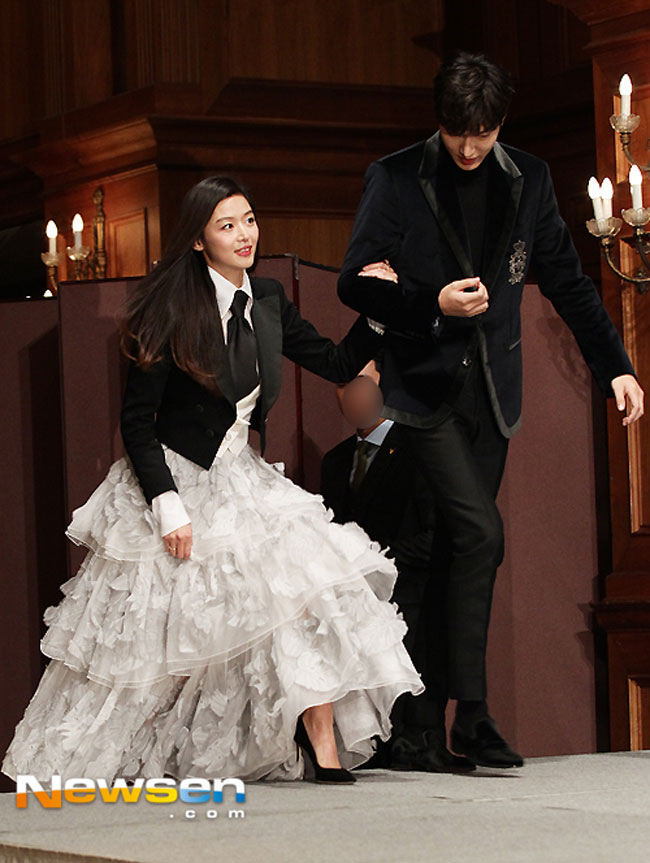 Jun Ji Hyun and Lee Min Ho photo c/o Newsen