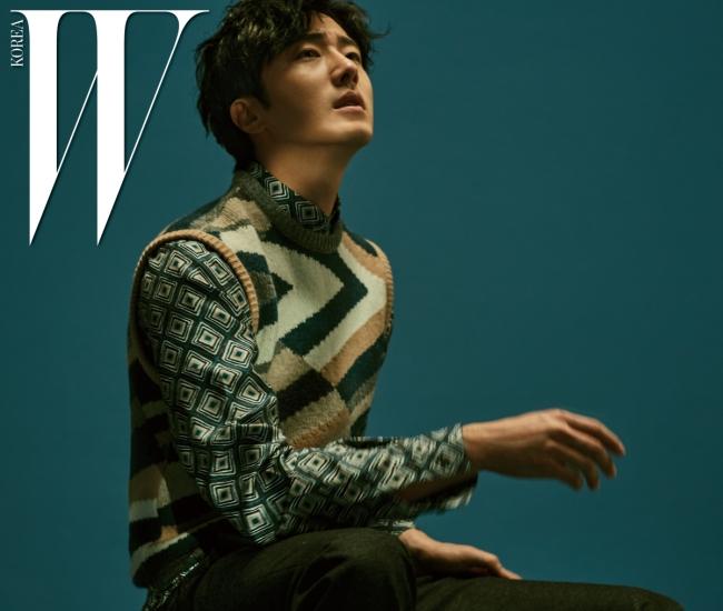Jung Il Woo photo c/o W magazine