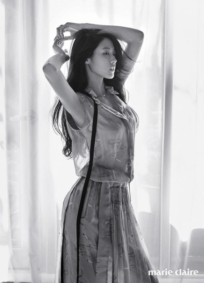 Kim Seolhyun photo c/o Marie Claire magazine