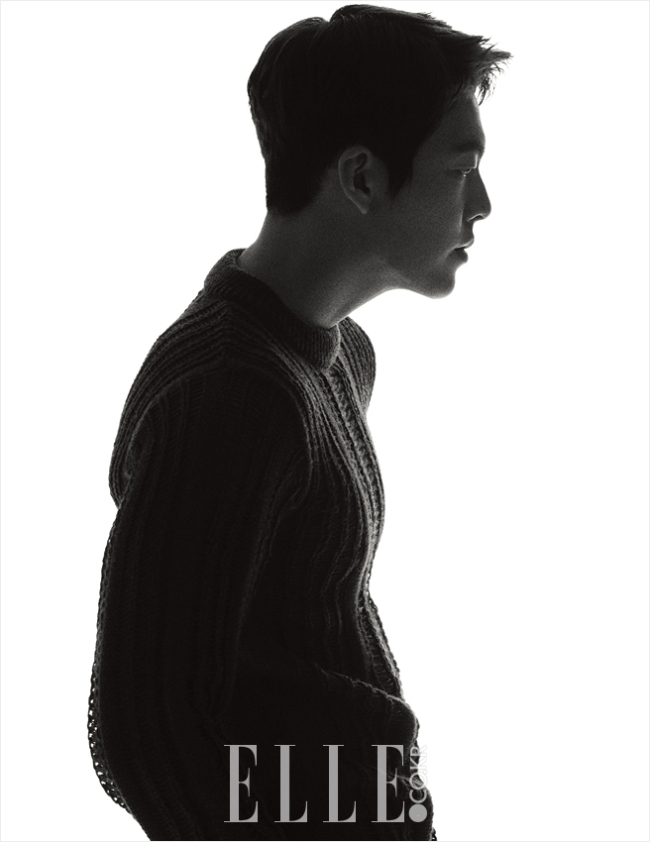 Kim Woo Bin photo c/o Elle magazine