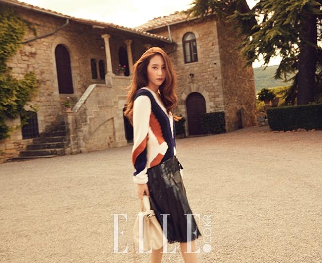 Krystal Jung photo c/o Elle magazine