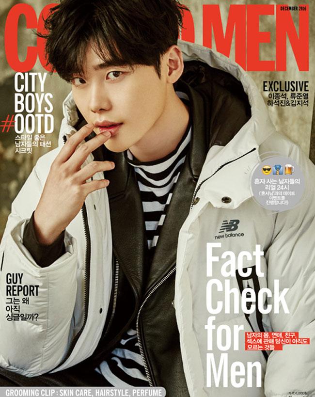 Lee Jong Suk c/o Cosmopolitan