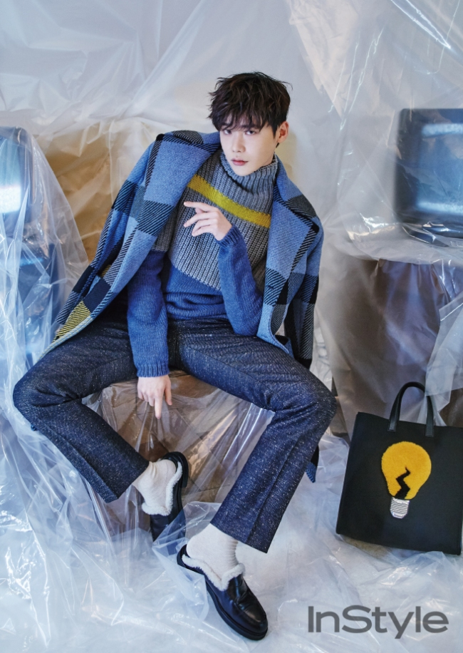 Lee Jong Suk photo c/o InStyle