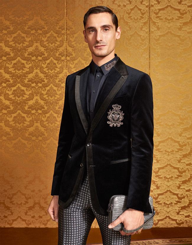 Model photo c/o Dolce&Gabbana