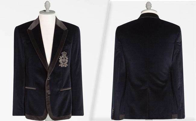 Dolce&Gabbana Velvet Jacket