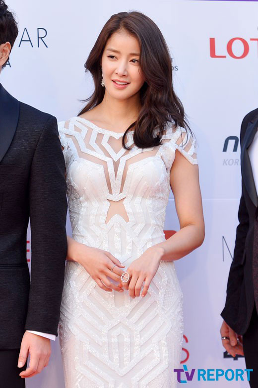 Lee Si Young c/o TV Report