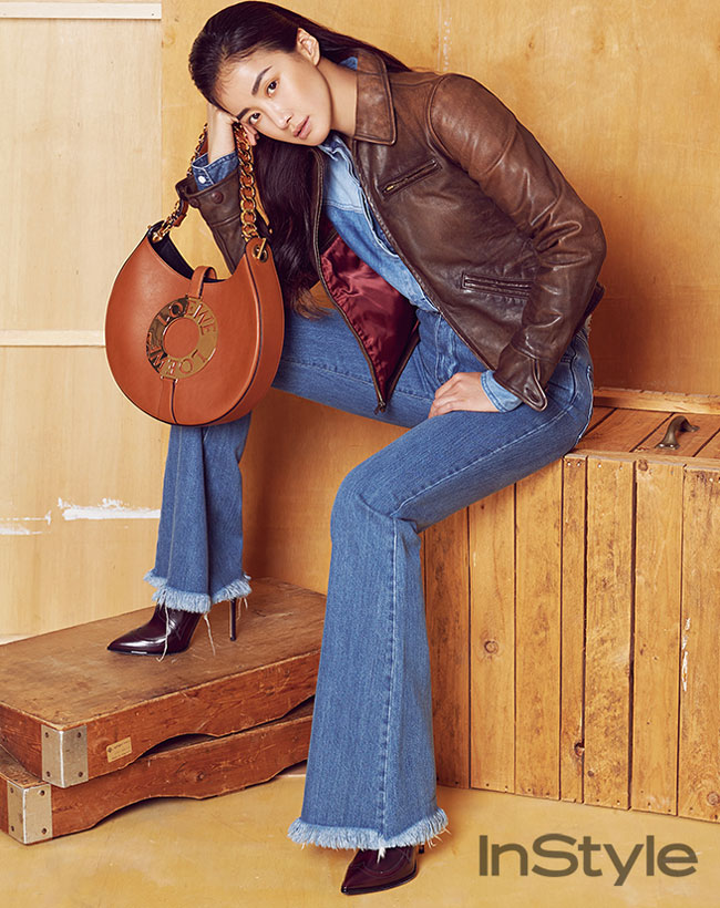 Lee Si Young c/o InStyle