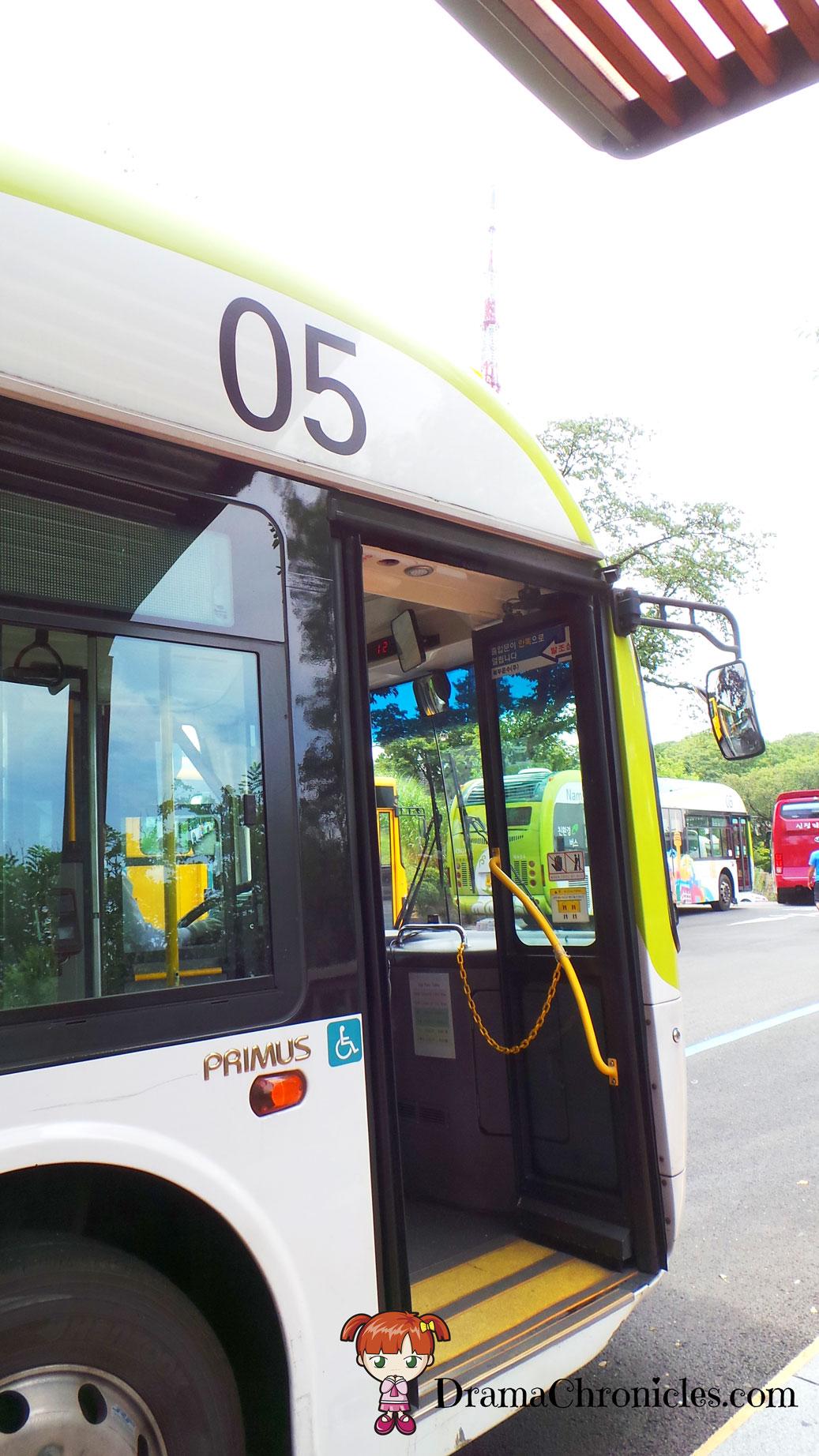 Namsan Circular Shuttle Bus No. 05