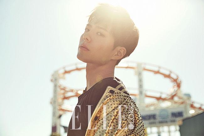 Park Bo Gum c/o Elle