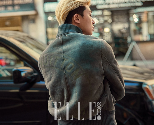 Park Seo Joon photo c/o Elle magazine