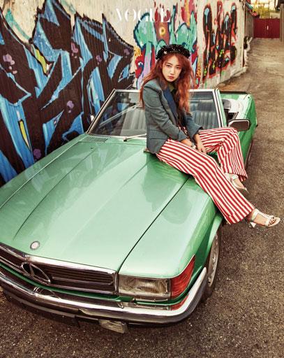 Park Shin Hye c/o Vogue