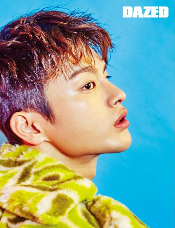 Seo In Guk photo c/o Dazed