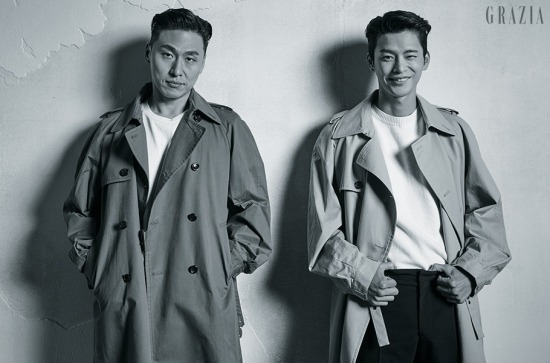 Seo In Guk and Oh Dae Hwan photo c/o Grazia