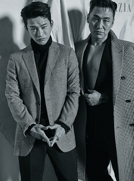 Seo In Guk and Oh Dae Hwan photo c/o Grazia