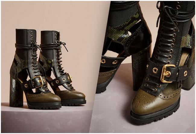 Burberry Platform Boots