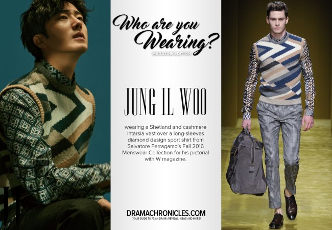 Jung Il Woo photo c/o W magazine
