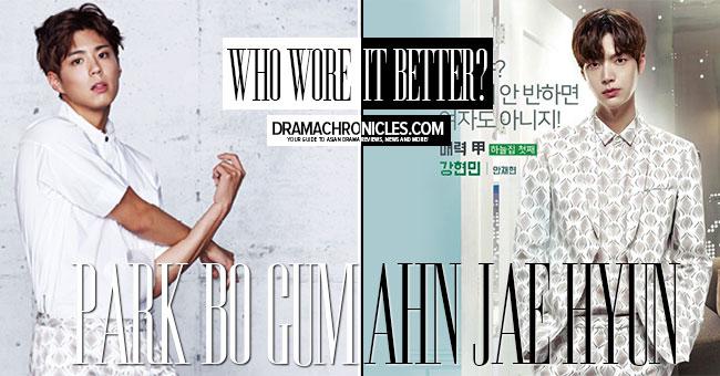 Park Bo Gum vs Ahn Jae Hyun