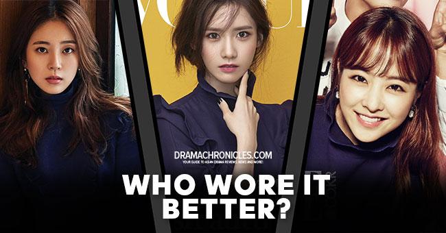 Baek Jin Hee vs Im Yoona vs Park Bo Young