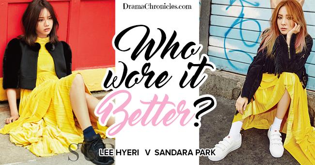 Lee Hyeri vs Sandara Park