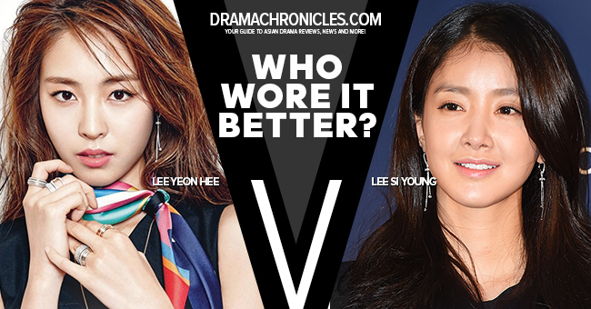 Lee Yeon Hee vs Lee Si Young
