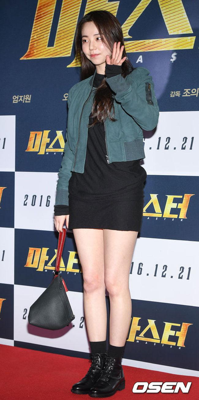 """""""Entourage actress and former Wonder Girls idol member Ahn So Hee c/o OSEN"""