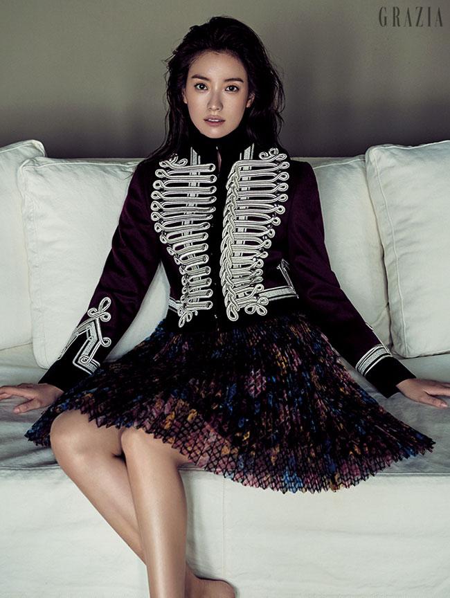 Han Hyo Joo c/o Grazia