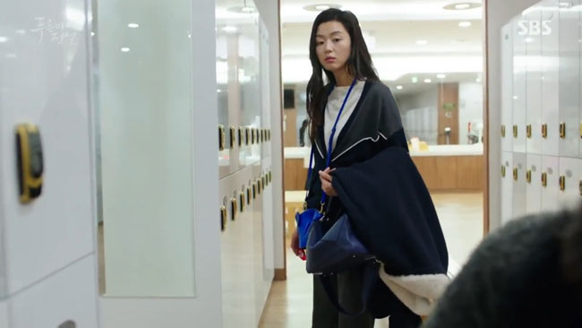 "Jun Ji Hyun in ""The Legend of the Blue Sea"" episode 11 c/o SBS"