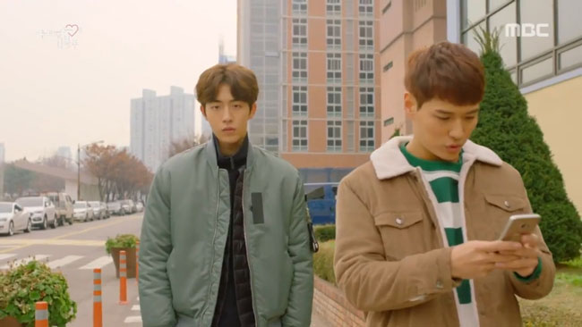 Nam Joo Hyuk in Weightlifting Fairy Kim Bok Joo Episode 10 c/o MBC
