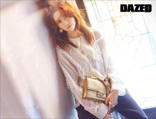 Im Yoona c/o Dazed