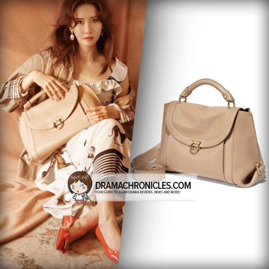 Salvatore Ferragamo Soft Sofia Bag (GBP 1,385).