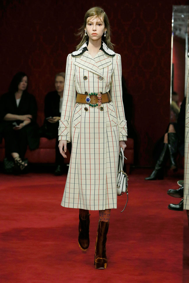 Miu Miu Coat c/o Vogue from Miu Miu's Pre-Fall 2016 Collection