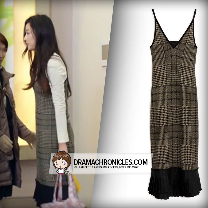 Jun Ji Hyun wearing Mulberry's Jacqueline Dress.