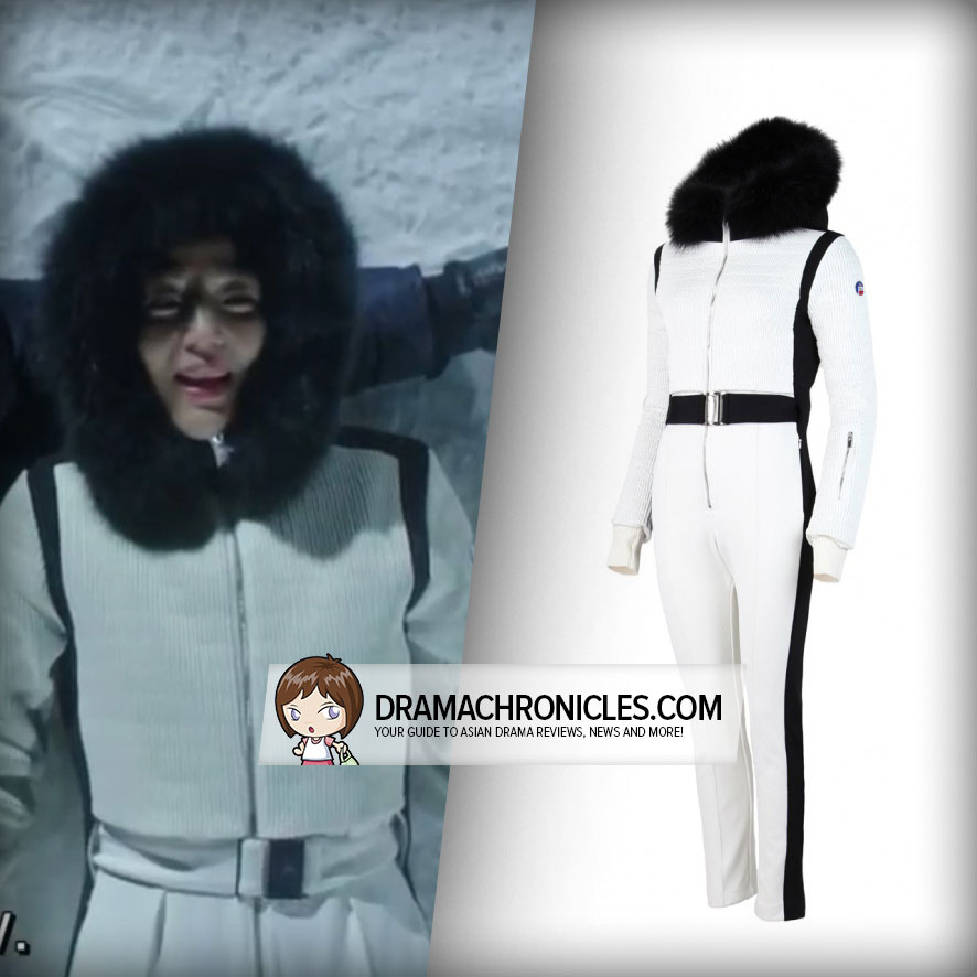Jun Ji Hyun wearing Fusalp Ski Suit