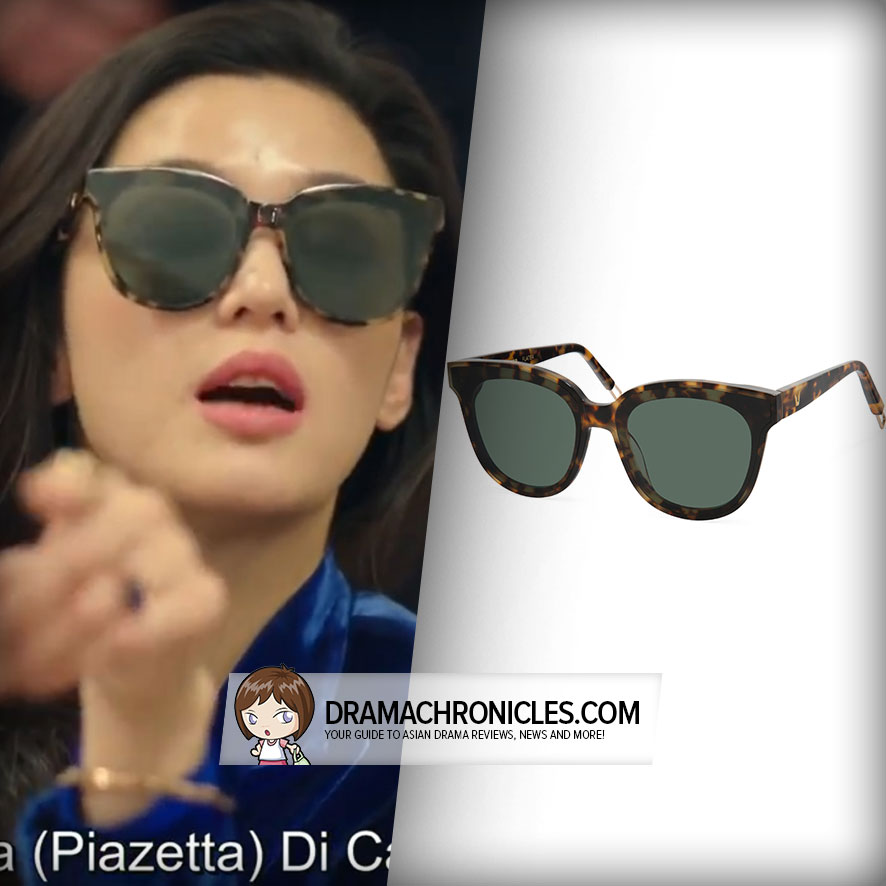 Jun Ji Hyun wearing Gentle Monster's In Scarlet 034.
