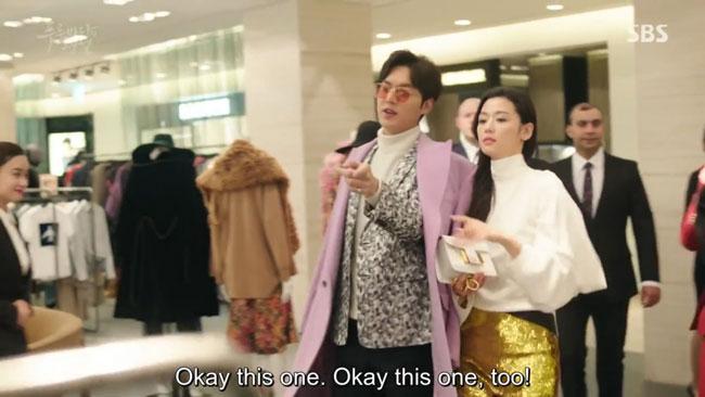 "Jun Ji Hyun in ""The Legend of the Blue Sea"" episode 9 c/o SBS"