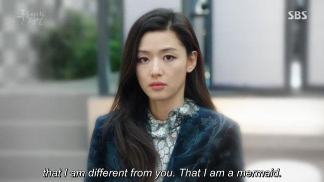 "Jun Ji Hyun in ""The Legend of the Blue Sea"" episode 10 c/o SBS"