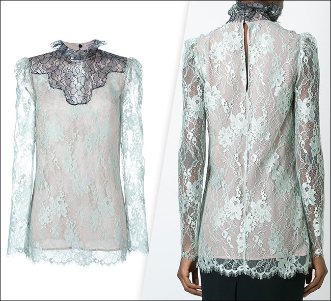 Lanvin Sheer Top